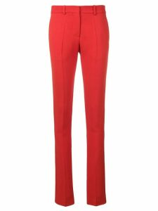 Victoria Beckham ankle split trousers - Red