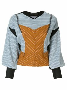 Kiko Kostadinov structured blouse - Multicolour