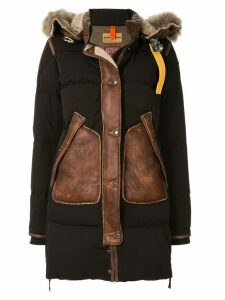 Parajumpers padded shearling coat - Black