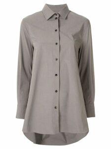 Co long-line shirt - Grey