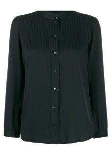 A.P.C. long-sleeve fitted blouse - Blue