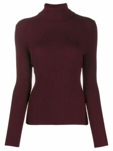 3.1 Phillip Lim ribbed roll-neck wool jumper - Red