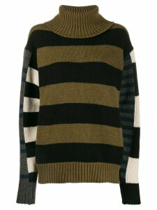 colville bold striped jumper - Green