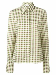 Victoria Beckham pointed collar shirt - NEUTRALS