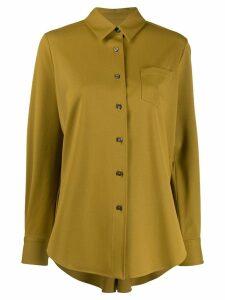 Alberto Biani wool blend shirt - NEUTRALS