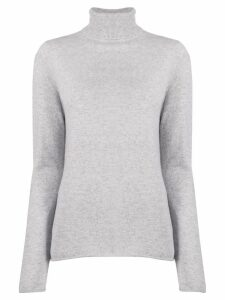 Majestic Filatures knitted turtle neck jumper - Grey