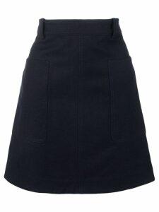 Victoria Victoria Beckham safari skirt - Blue