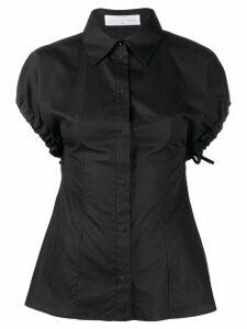 Victoria Victoria Beckham short sleeve shirt - Black