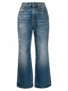 R13 high rise Riley jeans - Blue