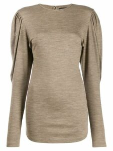 Isabel Marant Davallia top - Neutrals