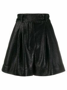 Styland glittered shorts - Black
