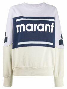 Isabel Marant Étoile Gallian sweatshirt - Blue