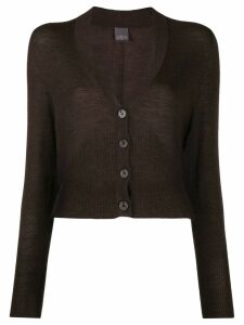 Lorena Antoniazzi v-neck cardigan - Brown