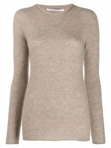 Agnona fine knit jumper - NEUTRALS