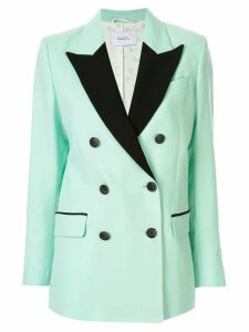 Racil Cambridge contrast lapel blazer - Green