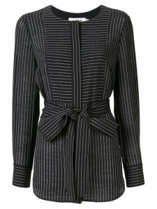 Cefinn striped long sleeve blouse - Black