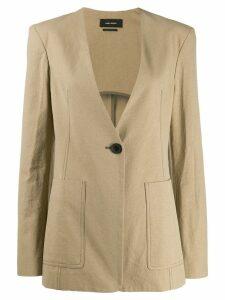Isabel Marant Link jacket - NEUTRALS