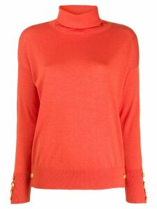 Snobby Sheep turtle neck jumper - ORANGE