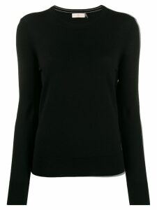 Tory Burch colour block jumper - Black