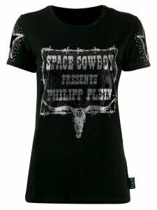 Philipp Plein cowboy T-shirt - Black