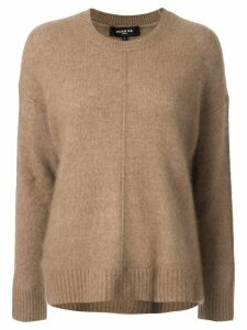 Paule Ka front seam jumper - Brown