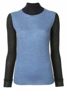 Joseph turtleneck cashmere jumper - Blue