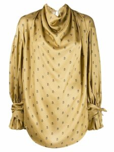 Preen By Thornton Bregazzi Greclyn blouse - NEUTRALS