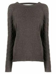 Preen By Thornton Bregazzi Camilla sweater - Brown