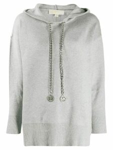 Michael Michael Kors Heather hoodie - Grey