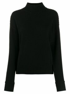 Theory cashmere roll-neck jumper - Black
