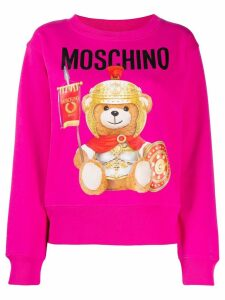 Moschino Teddy Bear oversized sweatshirt - PINK