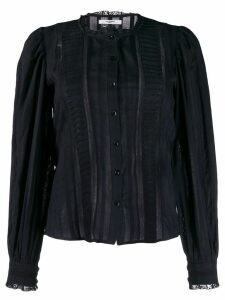 Isabel Marant Étoile Peachy lace blouse - Black