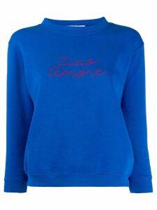 Giada Benincasa Ciao Amore sweatshirt - Blue