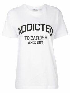 P.A.R.O.S.H. Addicted to Parosh T-shirt - White