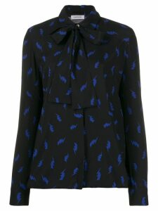 P.A.R.O.S.H. pussy bow blouse - Black