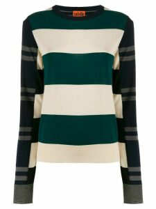 colville striped color-block sweater - NEUTRALS