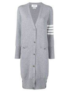 Thom Browne Milano fine merino cardigan - Grey