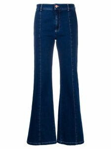 See By Chloé Signature flared jeans - Blue