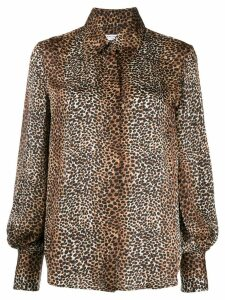 Equipment animal print shirt - Black