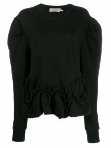 Preen By Thornton Bregazzi Melanie organic cotton sweatshirt - Black