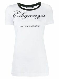 Dolce & Gabbana Eleganza T-shirt - White