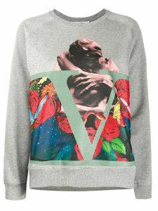 Valentino x Undercover printed sweatshirt - Grey