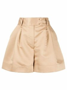Styland wide tailored shorts - GOLD