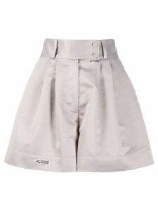 Styland wide tailored shorts - Grey