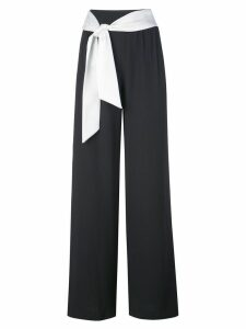 Alice+Olivia Merena tie waist trousers - Black