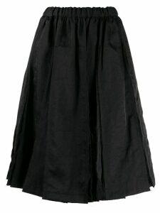 Comme Des Garçons Comme Des Garçons full shaped skirt - Black