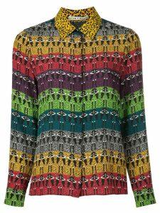 Alice+Olivia geometric colour-block blouse - Multicolour