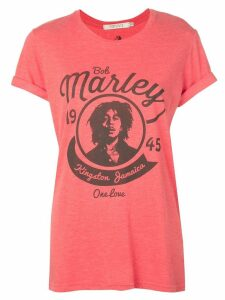 Alice+Olivia Bob Marley printed T-shirt - Red