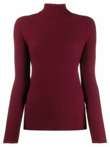 Fabiana Filippi roll neck jumper - Red
