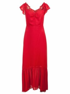 Reformation Butterfly Dress - Red